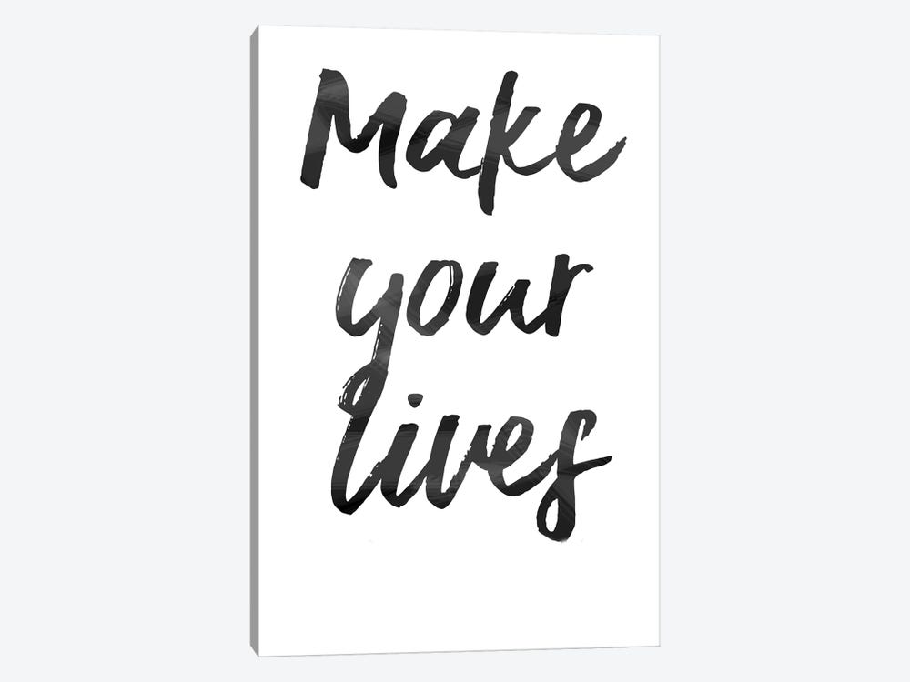 Make Your Lives by Art Mirano 1-piece Canvas Artwork