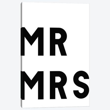 Mr & Mrs Canvas Print #ARM312} by Art Mirano Canvas Print