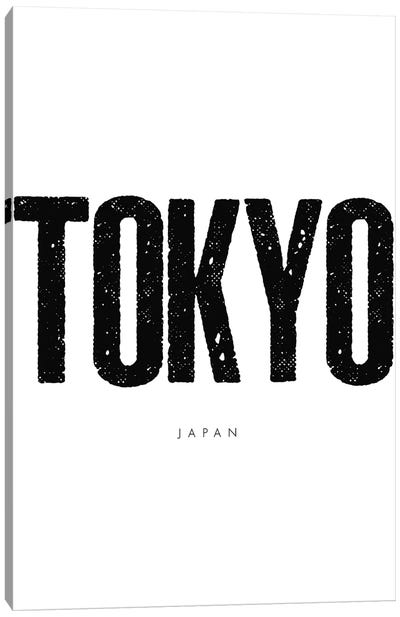 Tokyo Japan Canvas Art Print