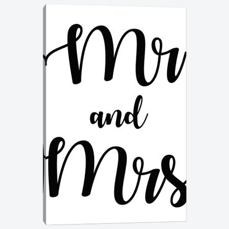 Mr And Mrs Canvas Print #ARM329} by Art Mirano Canvas Artwork