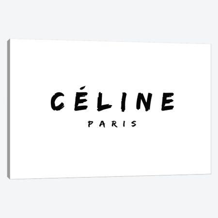 Celine Paris Canvas Print #ARM339} by Art Mirano Canvas Print