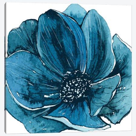 Ellie Blue Light Canvas Print #ARM358} by Art Mirano Canvas Art Print