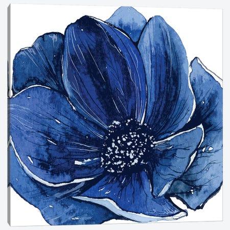 Ellie Blue Canvas Print #ARM360} by Art Mirano Canvas Artwork
