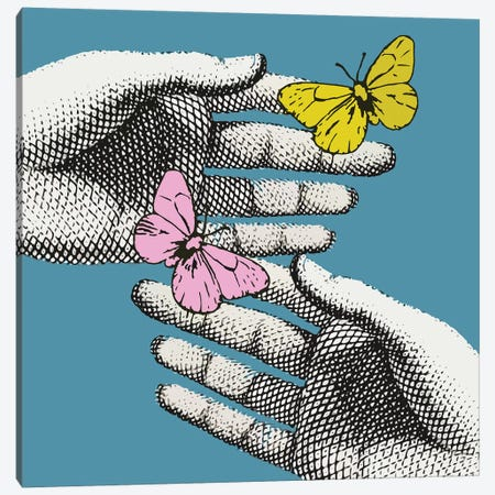 Butterflies Canvas Print #ARM368} by Art Mirano Canvas Wall Art
