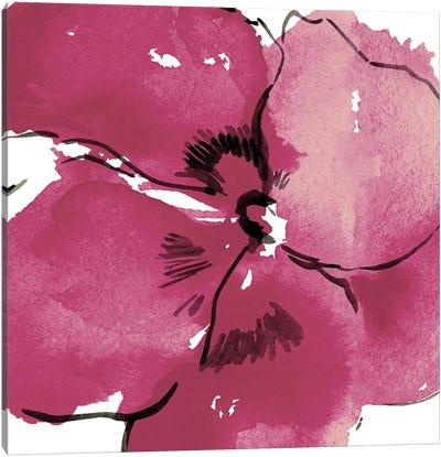 Stella Flower Pink Canvas Art Print