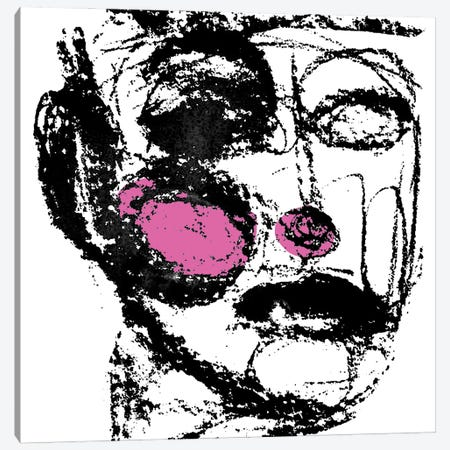 Face Canvas Print #ARM391} by Art Mirano Art Print