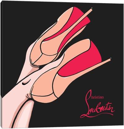 Christian Louboutin Shoes Canvas Art Print
