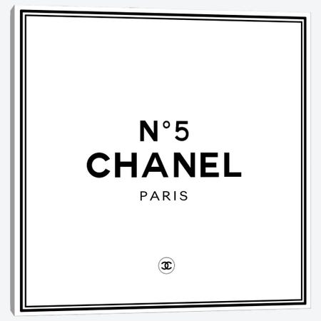 Chanel №5 Canvas Print #ARM419} by Art Mirano Canvas Wall Art