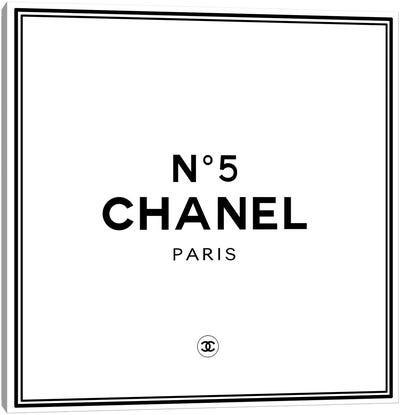 Chanel №5 Canvas Art Print