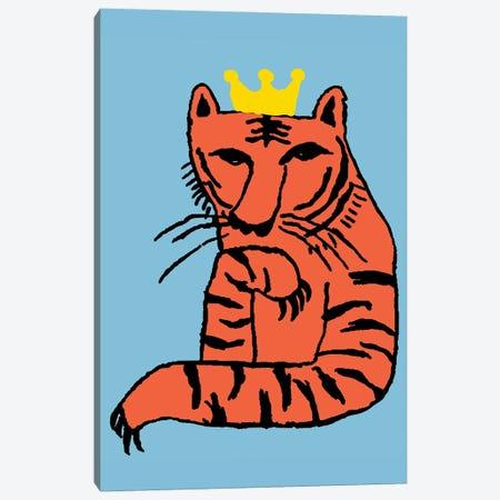 Tiger King Canvas Print #ARM427} by Art Mirano Canvas Wall Art