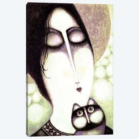 Helly Canvas Print #ARM445} by Art Mirano Canvas Art