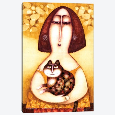 Agata Canvas Print #ARM450} by Art Mirano Canvas Art