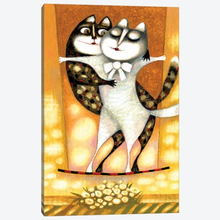 Cats Canvas Print #ARM452} by Art Mirano Canvas Art