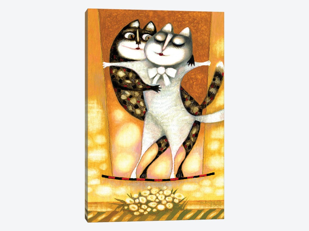 Cats by Art Mirano 1-piece Canvas Artwork