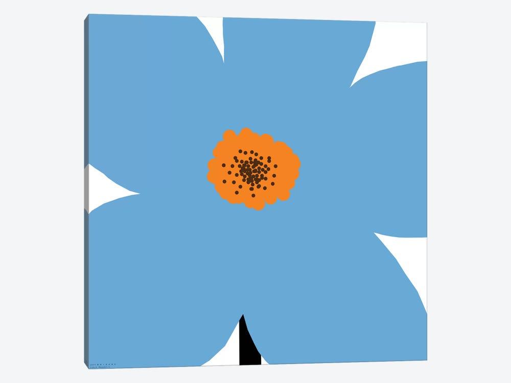 Blue Flower by Art Mirano 1-piece Art Print