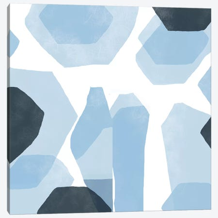 Blue Laguna Canvas Print #ARM50} by Art Mirano Art Print