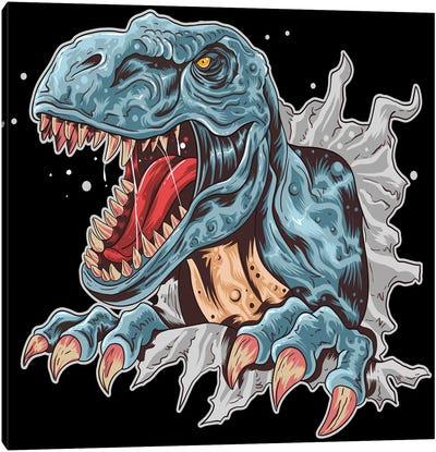Dinosaur Canvas Art Print