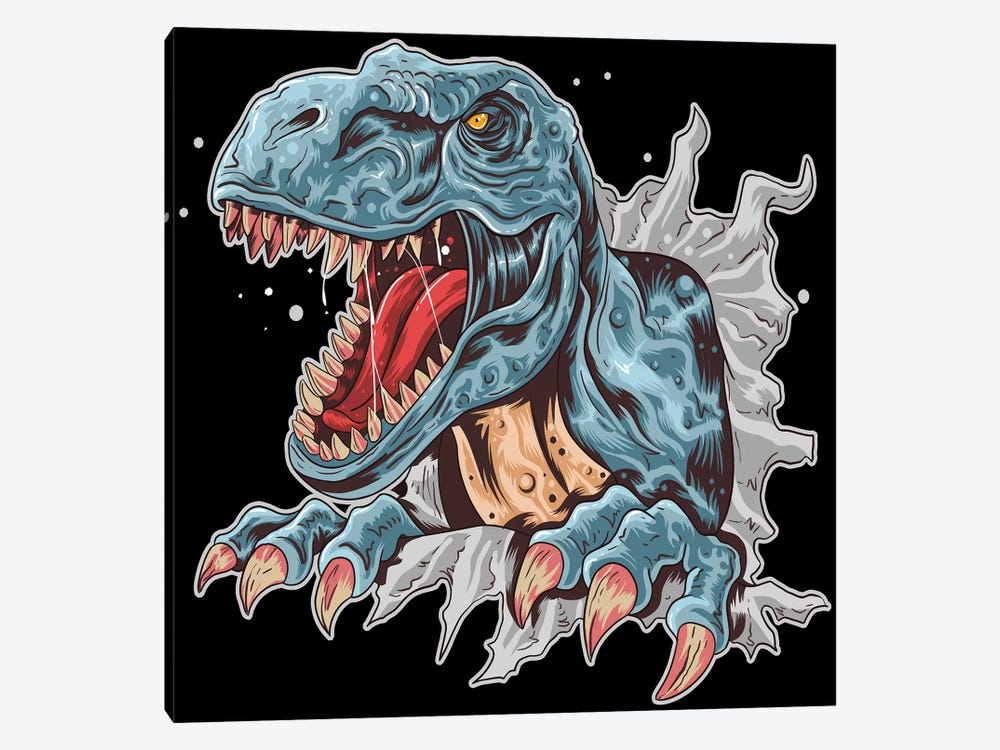Dinosaur by Art Mirano 1-piece Canvas Print