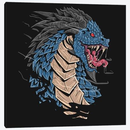Dragon Head Canvas Print #ARM523} by Art Mirano Canvas Art