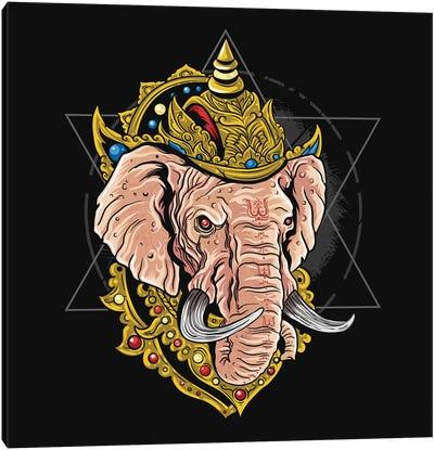 Ganesha Hindu God Canvas Art Print