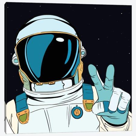 Astronaut Pop Canvas Print #ARM529} by Art Mirano Canvas Art