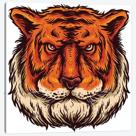 Tiger Canvas Print #ARM533} by Art Mirano Canvas Art Print