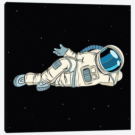Astronaut Canvas Print #ARM539} by Art Mirano Art Print