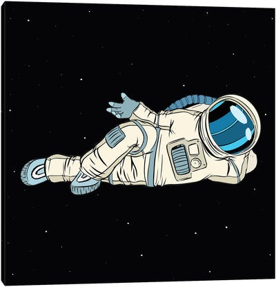 Astronaut Canvas Art Print