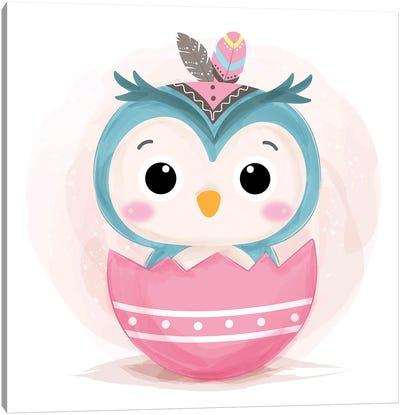 Owl For Children's Room Canvas Art Print