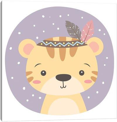 Tiger For Children's Room Canvas Art Print