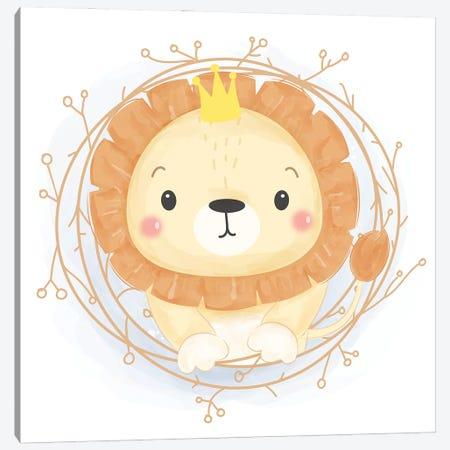 Leo For Children's Room Canvas Print #ARM546} by Art Mirano Canvas Art Print