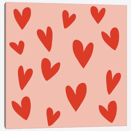 Hearts Canvas Print #ARM548} by Art Mirano Canvas Wall Art