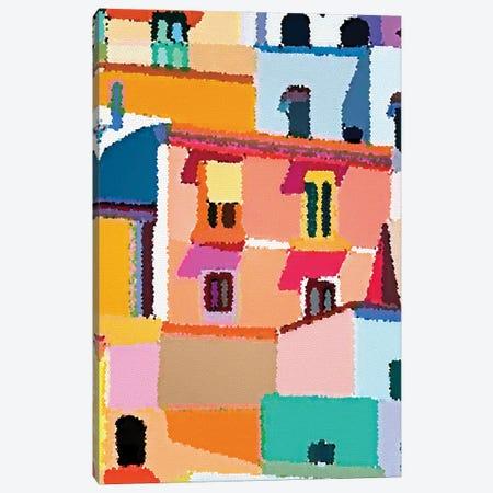 La Terassa Canvas Print #ARM573} by Art Mirano Art Print