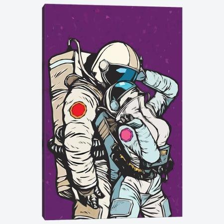 Astronaut Love Canvas Print #ARM585} by Art Mirano Art Print