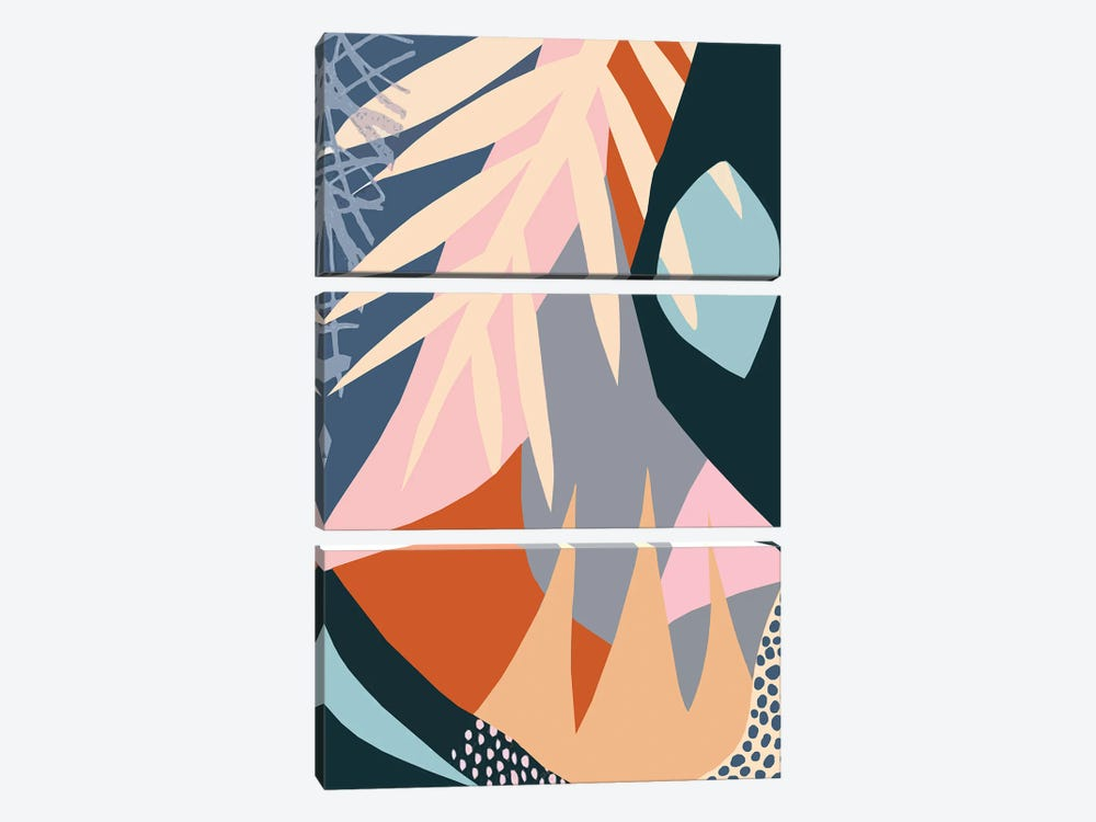 Abstract XLV by Art Mirano 3-piece Canvas Print