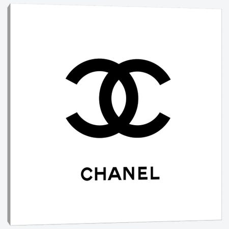 Chanel White Canvas Print #ARM61} by Art Mirano Canvas Art