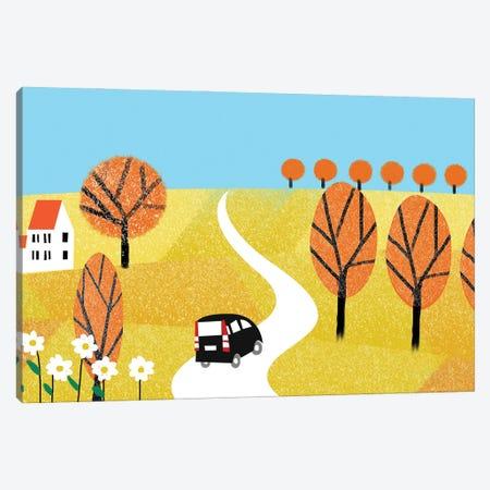 Autumn Day Canvas Print #ARM643} by Art Mirano Canvas Art Print