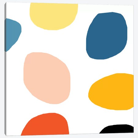 Colored Dots Canvas Print #ARM64} by Art Mirano Canvas Art Print