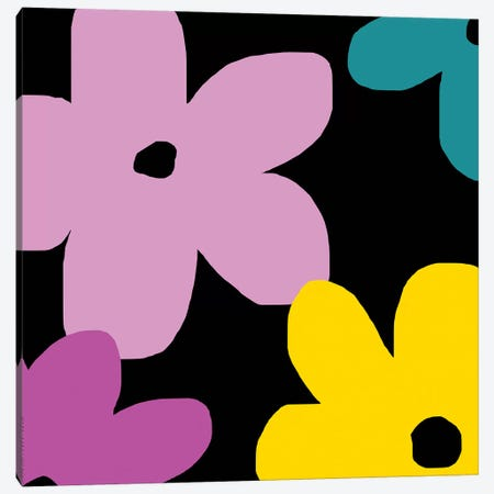 Colorful Flowers Canvas Print #ARM65} by Art Mirano Canvas Print
