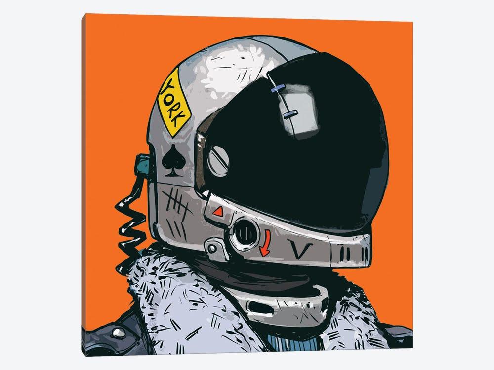 Astronaut New York by Art Mirano 1-piece Canvas Art