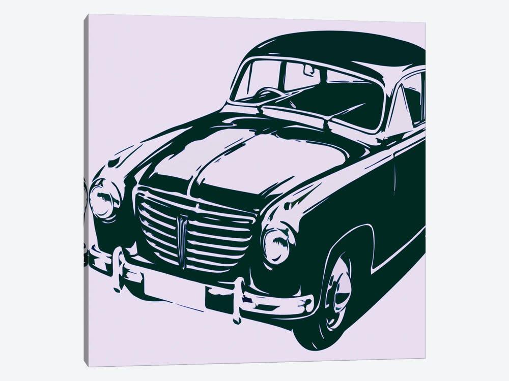 Retro Car by Art Mirano 1-piece Canvas Art Print