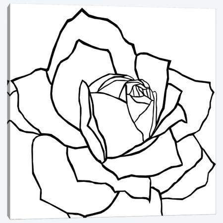 Danna Black Canvas Print #ARM69} by Art Mirano Canvas Artwork