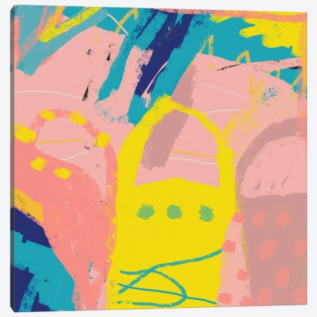 Abstract Mentore I Canvas Print #ARM728} by Art Mirano Canvas Artwork