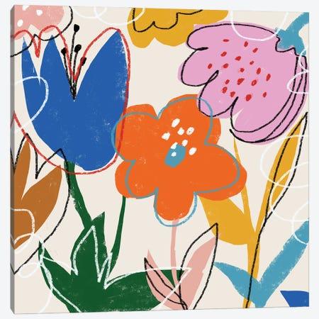 Absract Flower Mirano LXXXVIII Canvas Print #ARM739} by Art Mirano Art Print