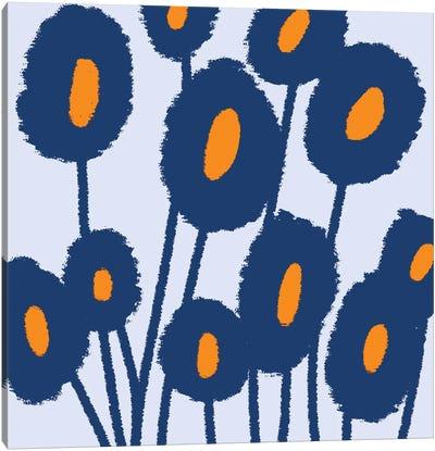 Gogoa Abstract Flowers Canvas Art Print