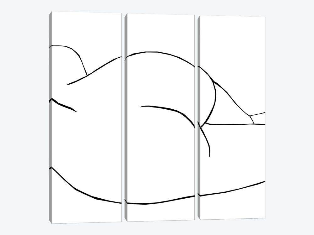 Ellisa White by Art Mirano 3-piece Canvas Artwork