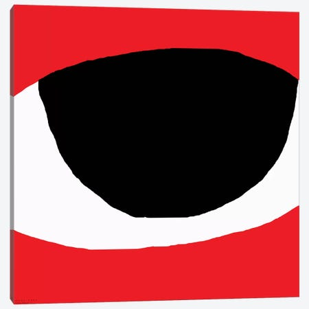 Eye Canvas Print #ARM89} by Art Mirano Canvas Artwork