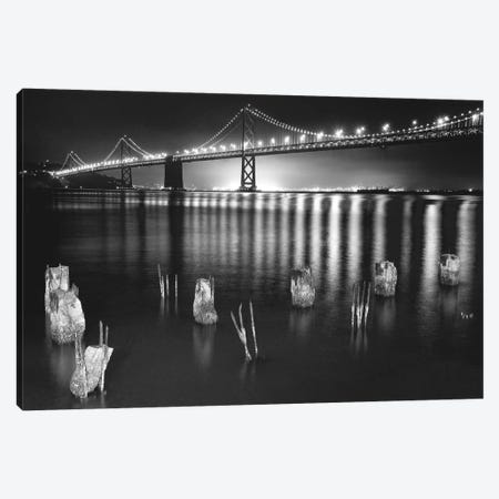 Night Reflections Canvas Print #ARN3} by Aaron Reed Canvas Wall Art