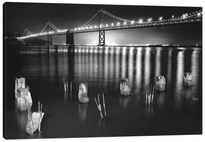 Night Reflections Canvas Art Print
