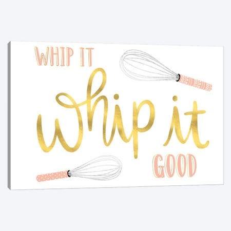 Witty Kitchen III Canvas Print #ARR10} by Arrolynn Weiderhold Canvas Art